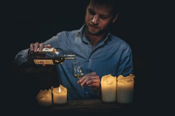 3 Course Dinner plus Drams in the Dark Whisky Tasting Package for 2 Guests