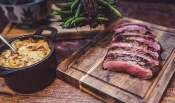 Delux Venison Chateaubriand Dinner Package for 2 with Drinks
